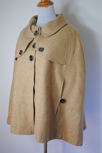 Burberry Coat Jacket Wool Cape Image 1