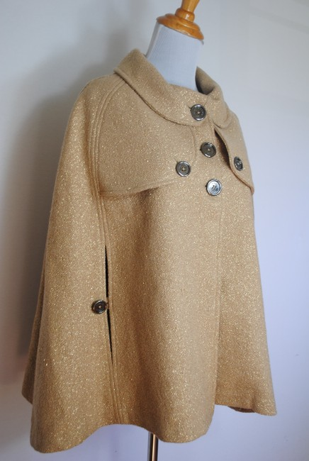 Burberry Coat Jacket Wool Cape Image 3