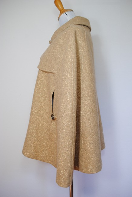 Burberry Coat Jacket Wool Cape Image 7
