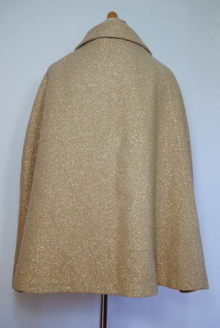 Burberry Coat Jacket Wool Cape Image 8