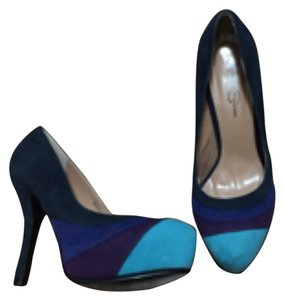 Jessica Simpson Navy blue, royal blue, purple, turquoise Platforms