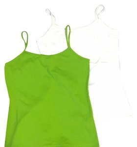 Zara Top white/green