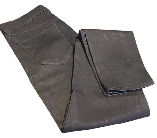 Item - Grey Coated Skinny Jeans Size 30 (6, M)