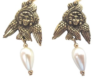 Museum Reproductions Boston New Angel Russian 15th/16th Century Dangle Earrings Museum Reproductions Boston