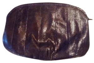 Other Snakeskin Vintage Navy blue Clutch