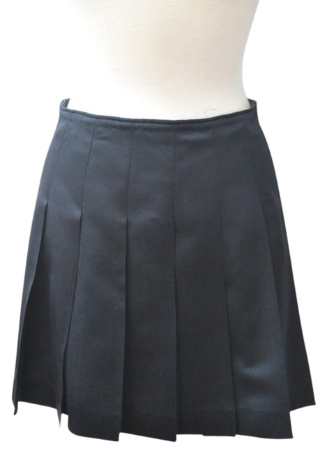 Item - Navy Pleated Skirt Size 8 (M, 29, 30)
