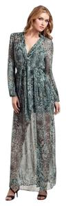 green multi Maxi Dress by Guess By Marciano