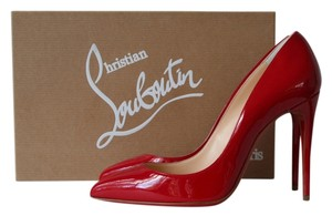 Christian Louboutin Pigalle Follies 100 100mm Red Pumps