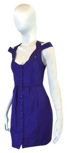 Tracy Reese short dress Purple on Tradesy
