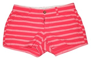 Old Navy Dress Shorts Striped Pinks