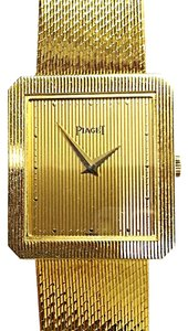 Piaget PIAGET Vintage 18 Karat(750) Yellow Gold Quartz Watch