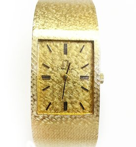 Omega OMEGA Vintage 14 Karat Yellow Gold Watch