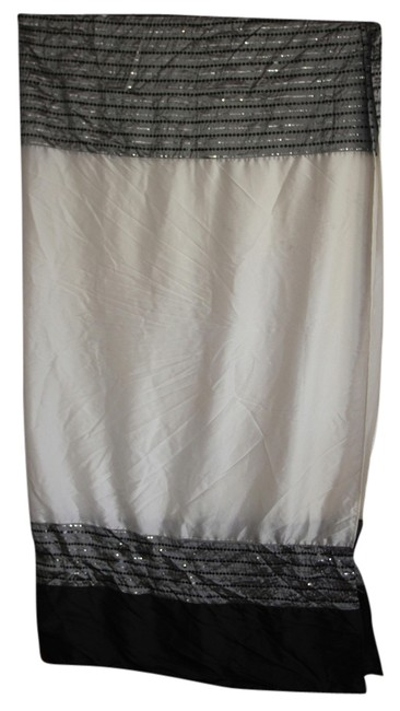 Item - Black/Gray/Ivory/Sequins Shower Curtain