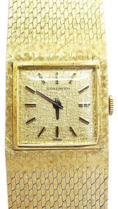 Longines LONGINES Vintage 14 Karat Yellow Gold Swiss Watch Mechanical Movement