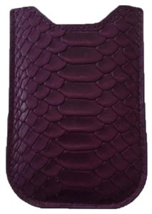 Lodis Phone Case Snake Print Leather
