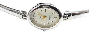 Geneve GENEVE Vintage 14 Karat White Gold Quartz Watch