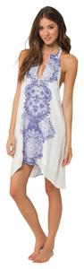 O'Neill short dress White and Blue on Tradesy