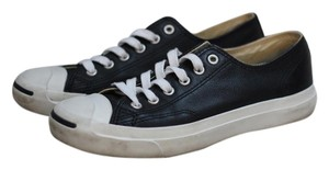 Converse Black Leather Athletic