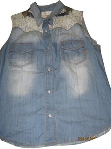 Miss Me Top Denim