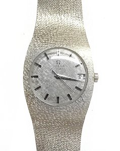 Omega OMEGA Vintage 14 Karat White Gold Automatic Watch