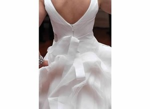 Vera Wang Fit And Flare Tossed Tulle Gown Vw351029 Wedding Dress