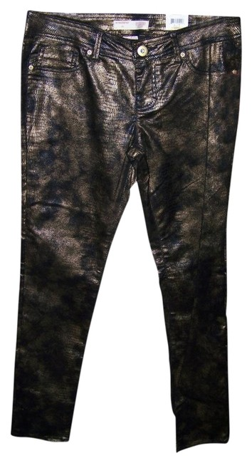 No Boundaries No 13 Juniors Sexy Animal Print Skinny Pants Multi Color