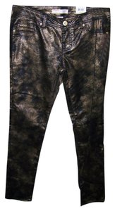 No Boundaries No 13 Junior Sexy Metallic Skinny Pants Multi Color