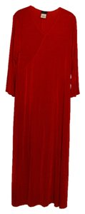 Red Maxi Dress by Citiknits