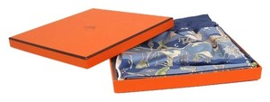 Hermès Hermes Rives Fertiles Silk Scarf NEW
