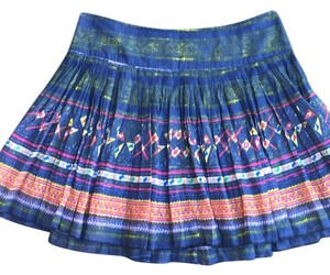 Free People Mini Skirt Mixed