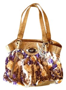 Sienna Ricchi Leather Pattern Tote in multi