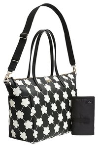 Kate Spade Black and White Diaper Bag