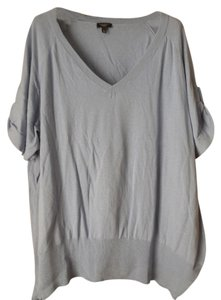 Talbots Plus-size Short Sleeve V-neck Sweater