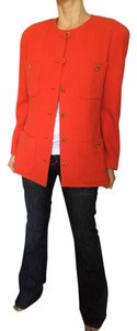 Chanel Boucle orange Jacket