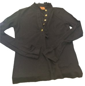 Tory Burch Button Down Shirt Blac