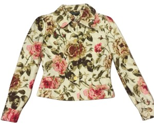Dolce&Gabbana D&g Jecket Fitted Floral Jacket