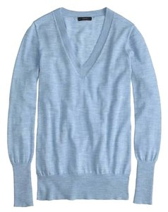 J.Crew Crew Merino Wool Solid V Sweater