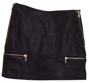 Zara Mini Skirt Blac
