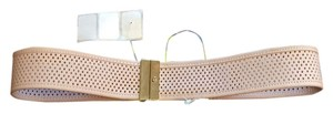 Tory Burch Wide Perforated Belt Size Small