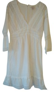 Sundance short dress white on Tradesy