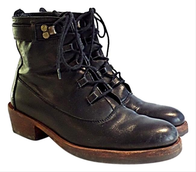 Item - Black Lace Up Boots/Booties Size US 5.5 Regular (M, B)