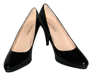 Ellen Tracy Black Patent Pumps