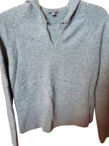 Ann Taylor Cashmere Hoody Set in Heather Grey