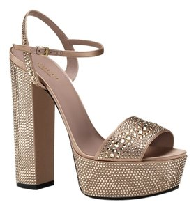 Gucci Sandles Fashion Heels Luxery Nude 207 Sandals