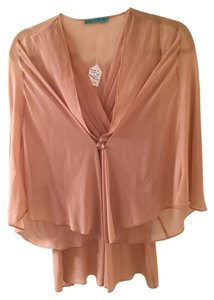 Alice + Olivia Feminine Top Dusty Pink
