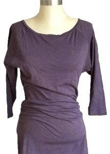 OBEY short dress Eggplant on Tradesy