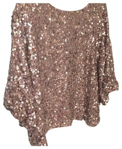 Vince Top Gold metallic