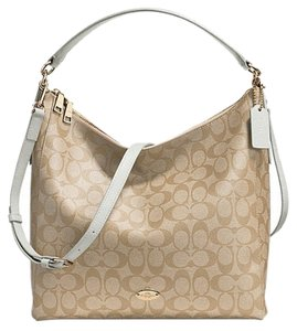 Coach Tote in shalk white