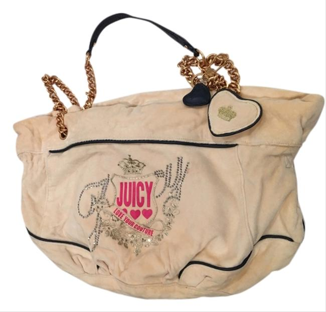 Juicy Couture Cream Shoulder Bag Juicy Couture Cream Shoulder Bag Image 1