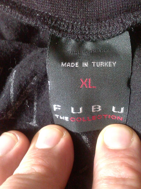 FUBU Comfortable Top black